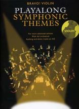 Playalong Symphonic Themes + Cd - Violin