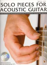 Solo Pieces For Acoustic + Cd - Guitar Tab
