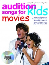 Audition Songs For Kids Movies + Cd - Pvg