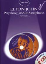 Elton John - Guest Spot + Cd - Saxophone Alto