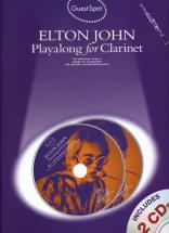 John Elton - Guest Spot + Cd - Clarinet