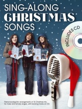 Sing-along Christmas Songs + Cd - Pvg