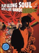 Play Along Soul With A Live Band Alto Sax Cd