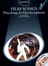 Guest Spot - Film Songs - Play Along For Alto Saxophone + 2 Cd