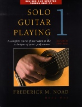 Solo Guitar Playing Volume 1 Fourth Edition - Guitar