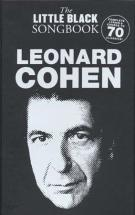 Little Black Songbook Leonard Cohen