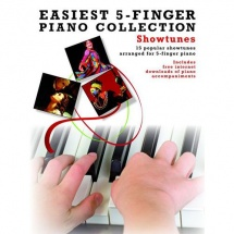 Easiest 5-finger Piano Collection Showtunes