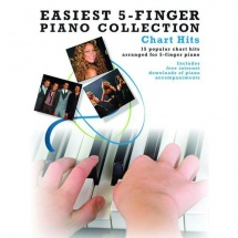 Easiest 5-finger Piano Collection Chart Hits