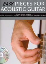 Easy Pieces For Acoustic Guitar + Cd