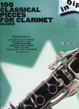 100 Classical Pieces For Clarinet Graded Dip In - Clarinette