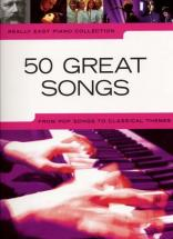 Really Easy Piano - 50 Great Songs