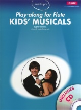 Playalong For Flute Kids Musicals - Flute
