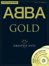 Abba Gold Flute Play-along Flt + 2cd - Flute