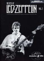Led Zeppelin - Play Bass With - Best Of Vol.2 + 2 Cd - Basse Tab