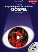 Guest Spot Gospel + Cd - Saxophone