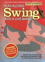 Play-along Swing With A Live Band! + Cd - Tenor Saxophone
