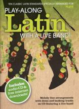 Play Along Latin With A Live Band + Cd - Flute