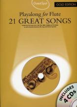 Guest Spot 21 Great Songs Gold Edition + 4 Cd - Flute