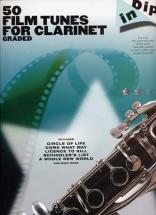 Dip In 50 Film Tunes For Graded Clarinet