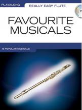 Really Easy Flute Playalong Favourite Musicals + Cd - Flute