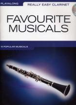 Really Easy Clarinet Play Along Favourite Musicals + Cd - Clarinette