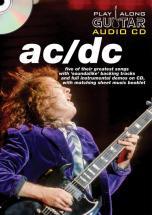 Play Along Guitar Audio Cd : Ac/dc - Guitare Tab