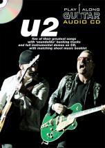 Play Along Guitar Audio Cd : U2 - Guitare Tab