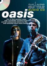 Play Along Guitar Audio Cd : Oasis - Guitare Tab