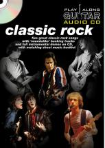 Play Along Guitar Audio Cd : Classic Rock - Guitare Tab