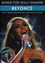 Beyonce - Songs For Solo Singers + Cd - Pvg
