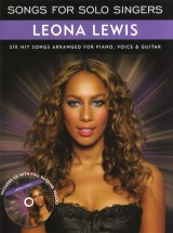 Songs For Solo Singers - Leona Lewis + Cd - Pvg