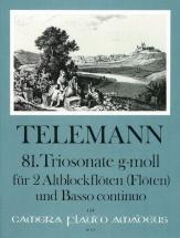 Telemann G.p. - Triosonate In G-moll Twv 42:e11