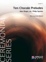 Reger Max - Ten Chorale Preludes - Orchestre D