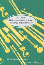Bach J.s. - Brandenburg Concerto Nr 2 - Ensemble De Flutes A Bec