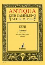 Bach J.s. - Triosonata C Major  Bwv 1037 - 2 Violins And Basso Continuo , Cello  Ad Lib.