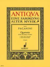 Paganini Niccolo - Quartetto Re Majeur