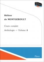 Helene De Montgeroult - Cours Complet Anthologie Vol.4