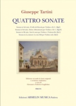 Tartini G. - Quattro Sonate Per Violino