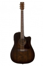 Art and Lutherie Americana Bourbon Burst Cw Qit Dreadnought