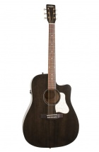 Art and Lutherie Americana Faded Black Cw Qit Dreadnought