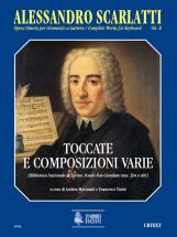 Scarlatti Alessandro - Complete Works For Keyboard Vol.2 : Toccatas And Various Compositions