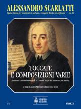 Scarlatti Alessandro - Complete Works For Keyboard Vol.3 : Toccatas And Various Compositions
