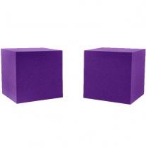 Auralex Acoustics Cornerfill Cubes Violet