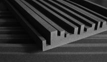 Auralex Acoustics Studiofoam Metro 60,96cm X 121,92cm X 5,08cm Charcoal Set De 12