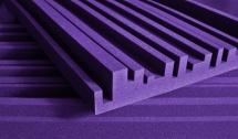 Auralex Acoustics Studiofoam Metro 60,96cm X 121,92cm X 5,08cm Purple Set De 12
