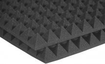 Auralex Acoustics Studiofoam Pyramid Charcoal 60,96cm X 60,96cm X 5,08cm Set De 12