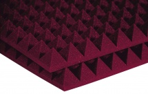 Auralex Acoustics Studiofoam Pyramid Burgundy 60,96cm X 121,92cm X 5,08cm Set De 12
