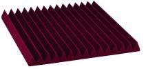 Auralex Acoustics Studiofoam Wedge Burgundy 60,96cm X 60,96cm X 5,08cm Set De 12
