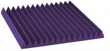 Auralex Acoustics Studiofoam Wedge Purple 60,96cm X 60,96cm X 5,08cm Set De 12