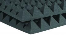 Auralex Acoustics Studiofoam Pyramid Charcoal 60,96cm X 60,96cm X 10,16cm Set De 6